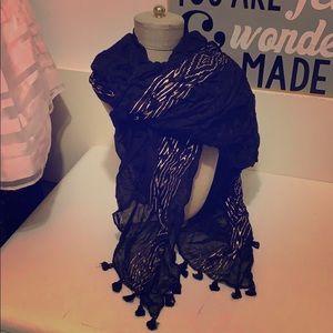 Stella & Dot tassel scarf
